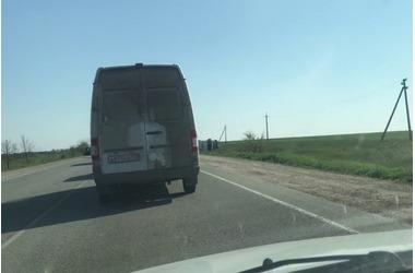 Керченскую трассу водители прозвали «дорогой смерти» ВИДЕО, фото — «Рекламы Фороса»