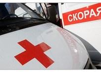 На крымском курорте иномарка протаранила бетонный столб, фото — «Рекламы Черноморского»
