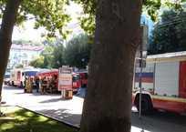 К театру Луначарского стянули 7 пожарных машин ФОТО, фото — «Рекламы Севастополя»
