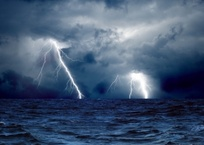 На Крым надвигается шторм, фото — «Рекламы Бахчисарая»