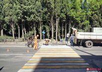 В Ялте закрыли популярный пешеходный переход, фото — «Рекламы Фороса»