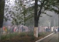 Огни фейерверка на выпускном в крымской школе полетели на людей ФОТО, фото — «Рекламы Евпатории»