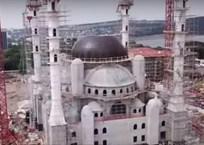 Как строится Соборная мечеть Крыма: съемка с коптера, фото — «Рекламы Ялты»