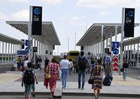"""В аэропорту """"Симферополь"""" запустили междугороднюю автостанцию, фото — «Рекламы Бахчисарая»"""