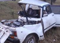 ДТП в Крыму: ВАЗ разорвало на части, водитель и пассажир погибли ФОТО, фото — «Рекламы Фороса»