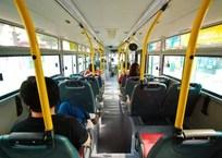 В Крыму водитель автобуса «взял в заложники» пенсионерку с 7-летним внуком, фото — «Рекламы Фороса»