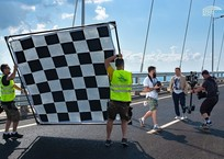 Группа «Любе» снимает клип на Крымском мосту ФОТО, фото — «Рекламы Алупки»