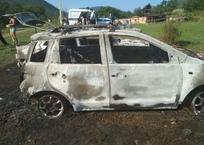 В Крыму неизвестные напали на детский палаточный лагерь: сожгли авто и собаку, фото — «Рекламы Евпатории»