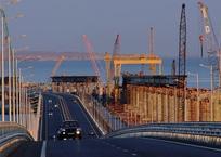 Крымский мост сможет выдержать девятибалльное землетрясение, фото — «Рекламы Феодосии»