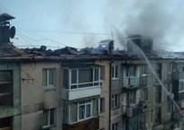 В Кореизе сгорела многоэтажка - людям предоставили временное жильё, фото — «Рекламы Крыма»