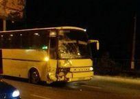 """В Симферополе столкнулись автобус, легковушка и """"скорая"""" ФОТО, фото — «Рекламы Армянска»"""