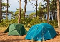В Крыму начали охоту за туристам, которые живут в палатках, фото — «Рекламы Партенита»