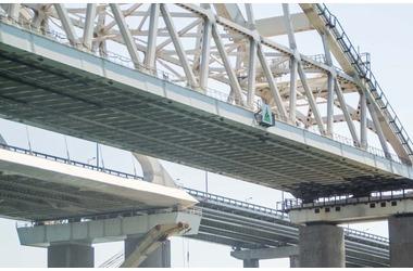 Как выглядит Крымский мост с квадрокоптера ВИДЕО, фото — «Рекламы города Саки»