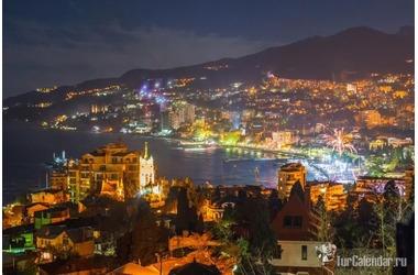 На ЮБК после шторма появилась ночная радуга ФОТО, фото — «Рекламы Крыма»