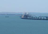 Крымский мост взят под особую охрану, фото — «Рекламы Фороса»