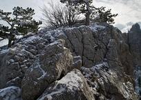 На Ай-Петри выпал первый снег, фото — «Рекламы Щелкино»