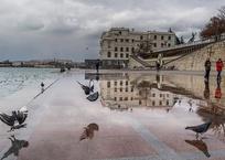 МЧС предупредило о похолодании и сильном ветре в Севастополе, фото — «Рекламы Севастополя»