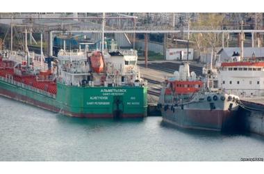 В керченском порту во время посадки на буксир погиб матрос, фото — «Рекламы Джанкоя»