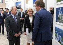 Путин ознакомился с проектом хореографической академии Севастополя, фото — «Рекламы Севастополя»