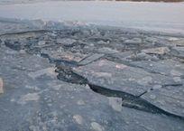 В Крыму ребенок провалился под лед, фото — «Рекламы Щелкино»