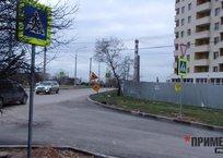 Жителей элитного района Севастополя наказали переходом в никуда, фото — «Рекламы Севастополя»