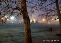 Севастополь окутал густой туман ФОТО, фото — «Рекламы Севастополя»