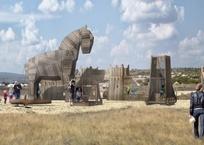 В парке «Федюхины высоты» будет детская площадка с Троянским конём и «археологическая» песочница, фото — «Рекламы Севастополя»