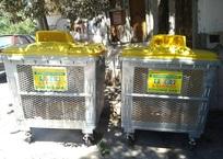 В Ялте приступили к замерам по нормам накопления мусора на контейнерных площадках, фото — «Рекламы Алушты»