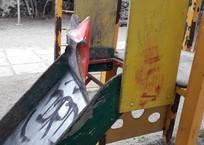 В Крыму детская площадка напоминает зону пыток ФОТО, фото — «Рекламы Феодосии»