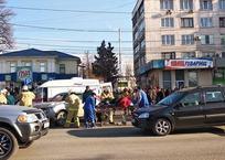 В Симферополе у вокзала сбили женщину , фото — «Рекламы Приморского»