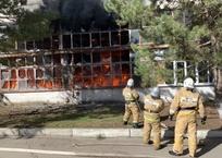 Тушили около пяти часов: как ликвидировали крупный пожар на заводе пластмасс в Симферополе, фото — «Рекламы Приморского»