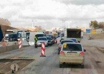 Коллапс на трассе Симферополь-Севастополь: пробка растянулась на 10 км, фото — «Рекламы Севастополя»