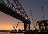 Как выглядит железнодорожный подход Крымского моста с высоты птичьего полета ВИДЕО, фото — «Рекламы Севастополя»