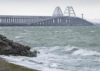 Крымский мост за зиму пережил 38 штормовых суток, фото — «Рекламы Симферополя»