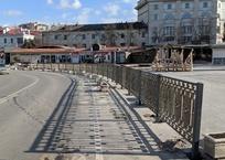 Заборостроительство дошло до Артбухты ФОТО, фото — «Рекламы Севастополя»