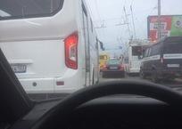 Момент наезда автобуса на бабушку в Севастополе попал на видео, фото — «Рекламы Севастополя»