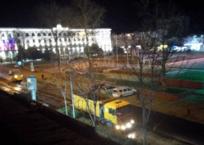 За ночь в центре Симферополя появилась новая дорога - ждут важных гостей? ФОТО, фото — «Рекламы Симферополя»