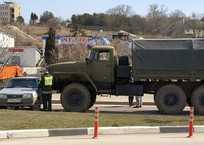 В Севастополе военный грузовик врезался в «девятку» ФОТО, фото — «Рекламы Севастополя»