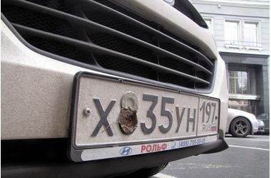 Крымчан предупреждают: скрываешь свой номер на машине - останешься без прав, фото — «Рекламы города Саки»