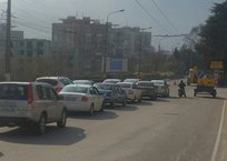 Заторы на месяц: ремонты дорог в Ялте спровоцировали серьезные пробки, фото — «Рекламы Фороса»