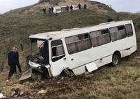 Четверо пострадавших в ДТП с автобусом в Крыму находятся в тяжелом состоянии, фото — «Рекламы Партенита»