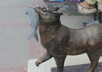 В Балаклаве украли скульптуру кота ФОТО, фото — «Рекламы Севастополя»