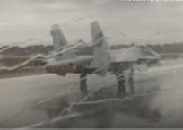 Появилось видео взлета Су-27СМ во время ливня в Крыму, фото — «Рекламы Алушты»