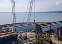 Пробное ж/д движение по Крымскому мосту планируют запустить в августе-сентябре, фото — «Рекламы Севастополя»