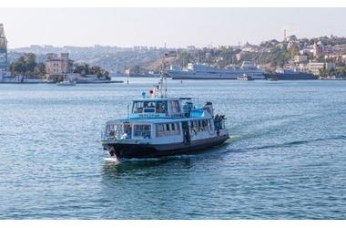 В Севастополе временно не будут ходить катера и паром, фото — «Рекламы Севастополя»