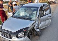 Под Феодосией в ДТП с иномарками пострадали шесть человек, фото — «Рекламы Феодосии»