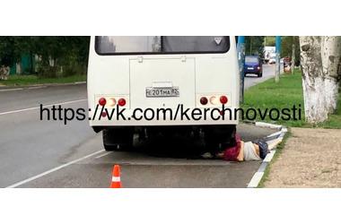 В Крыму автобус переехал сошедшего на остановке пассажира ФОТО, фото — «Рекламы Партенита»
