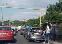 Первый из 15-ти пострадавших в ДТП с мусоровозом опубликовал видео аварии, фото — «Рекламы Севастополя»
