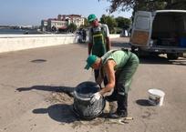 В Артбухте Севастополя начали ремонтировать пешеходную зону, фото — «Рекламы Севастополя»