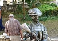 Памятник «вежливым людям» в Севастополе привел в ужас горожан, фото — «Рекламы Севастополя»